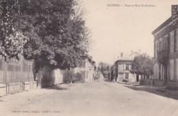 SUIPPES               PONT ET RUE SAINT ANTOINE - France