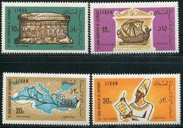 "LIBAN  1966  MNH  -   "" LE LIBAN INVENTEUR DE L'ALPHABET ""  -  4 VAL. - Liban"