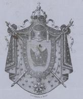 Passeport Héraldique Berne 1858 St.Louis Papier Bleu  44 X 28cm. - Documentos Históricos