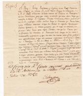 Carta Manuscrita 1782 Nuevo Reino De Granada Santa Fe De Bogotá Real Audiencia Juan De Casamayor - Colombia