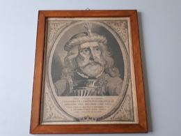 Magnifique Gravure De L'empereur Theodericus II (ancien)   & - Estampes & Gravures