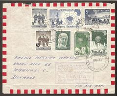 1963. AUSTRALIAN ANTARCTIC SUPPORT EXPEDITION 62/63 OM BORD DANSKE POLAR SKIBET THALA... (Michel 1-7) - JF120088 - Australian Antarctic Territory (AAT)