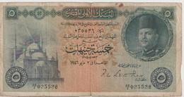 EGYPT  P. 25a 5 P 1946 F - Egypte