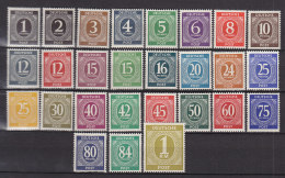 AllBes. GemAusg. 911-937, Postfrisch **, I. Kontrollratsausgabe 1946 - Gemeinschaftsausgaben