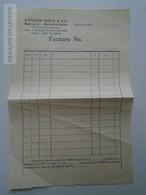 ZA167.29 Unfilled Invoice --Edmund KOLB & Co - Moara Cu Sul  Walzenkunstmühle - Mill Moulin - Sannicolaul-Mic Arad - Factures & Documents Commerciaux