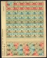 Vieux Papiers > Non Classés  Tickets De Vêtements Annexe De La Carte 1946 - Non Classés