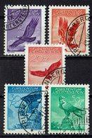Liechtenstein 1934 // Mi. 143/147 O (033473) - Liechtenstein