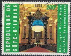 Côte D'Ivoire 1997 Oblitéré Rond Used Stamp Basilique Notre Dame De La Paix De Yamoussoukro - Côte D'Ivoire (1960-...)