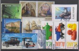 #143 ALAND FINLANDE Timbres Oblitérés/ Used Stamps Briefmarken Sellos Selhos - Aland