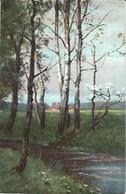 CPA Arts * Sous-Bois * - Peintures & Tableaux