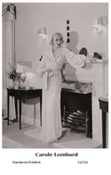 CAROLE LOMBARD - Film Star Pin Up PHOTO POSTCARD - 41-254 Swiftsure Postcard - Entertainers