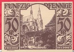 Allemagne 1 Notgeld  50 Pfenning Stadt  Paderborn Dans L 'état  Lot N °3193 - [ 3] 1918-1933 : République De Weimar