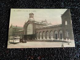 Liège, La Gare De Longdoz, Tramway Et Voiture  (U6) - Liege