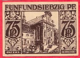 Allemagne 1 Notgeld  75 Pfenning Stadt  Paderborn Dans L 'état  Lot N °3197 - [ 3] 1918-1933 : République De Weimar
