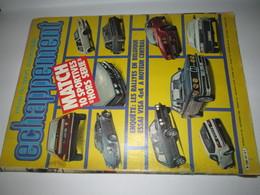 REVUE    ECHAPPEMENT  Septembre 1982    240 Pages - Auto/Moto
