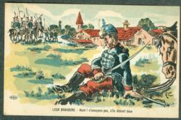WW1 Carte Caricature Anti Guillaume Reich Allemand Europe France Signée A.C. - Autres Illustrateurs