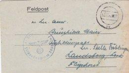 German Feldpost WW2: Verband 805 Sonderverband Brandenburg FP 38951 To Ausbildungsabt. In Landsberg However Rerouted - Militaria