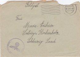 German Feldpost WW2: 2. Kompanie Luftwaffen-Bau-Bataillon 13/IV  FP L47096 LGPA Königsberg P/m 30.5.1941 - Letter - Militaria