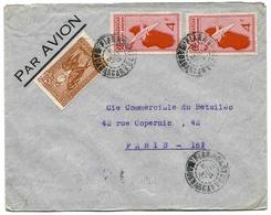 Madagascar Lettre  Avion Airmail Cover Fianarantsoa 37 - Madagascar (1889-1960)