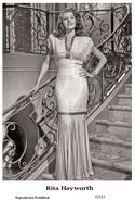 RITA HAYWORTH - Film Star Pin Up PHOTO POSTCARD - 7-237 Swiftsure Postcard - Entertainers