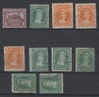 Kanada , New Brunswick , 10 Klassische Marken , 6 X Ohne Gummi - Neu-Brunswick
