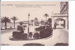 525 - CANNES - Promenade De La Croisette - Jardins De L'Hôtel CARLTON - Cannes