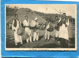 BANGUI-AEF-colonie-gros Plan-musiciens Arabes -années 40-édition Ariaga- -années 50 - Centrafricaine (République)