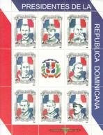 2001 Dominican Republic Presidents Miniature Sheet Of 8 Complete MNH - Dominicaine (République)