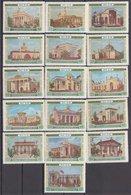Russia 1955 Mi 1764-1779 MNH OG ** Complete Set - 1923-1991 USSR