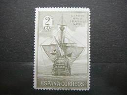 Sailboats Ships # España Spain Espagne # 1930 MNH # 2C - Boten