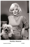 MARILYN MONROE - Film Star Pin Up PHOTO POSTCARD - 201-881 Swiftsure Postcard - Entertainers