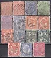 QUEENSLAND - MiNr: Partie 15x  Used - 1860-1909 Queensland