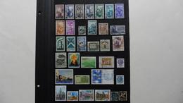 Italie : 34 Timbres Oblitérés - Collections