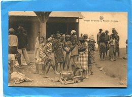 CONGO BELGE-Kinshasa- Ghros Plan-groupe De Femmes Au Marché- -années 20-30 édition Nels - Kinshasa - Léopoldville
