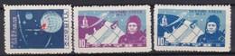 North  Korea     .     Yvert  .     3  Stamps        .   (*)     .     No  Gum      .    /    .     Pas De Gomme - Corée Du Nord