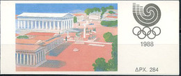 Greece, Summer Olympic, 1988, Booklet - Summer 1988: Seoul