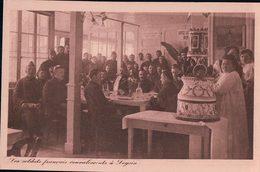 Leysin, Les Soldats Français Convalescents Guerre 1914-18 (694) - Guerre 1914-18