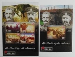 St.Vincent 2015** Klb.7423-26 + Bl.794. Famous Battles Of World War I MNH [15;39] - Militaria