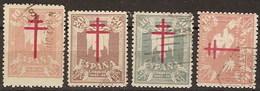 España U 0957/960 (o) Tuberculosos. 1942 - 1931-Hoy: 2ª República - ... Juan Carlos I