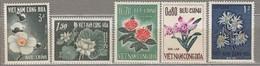 VIETNAM SOUTH 1965 Flowers MNH (**) Mi 338-342 #23790 - Viêt-Nam