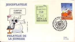 [408110]Belgique 1994 - Cubitus, Bandes Dessinées - FDC