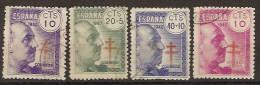 España U 0936/939 (o) Franco. Tuberculosos - 1931-Hoy: 2ª República - ... Juan Carlos I