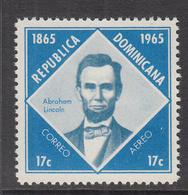 1965 Dominican Republic Dominicana Lincoln Complete Set Of 1 MNH - Dominicaine (République)