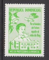 1971 Dominican Republic Dominicana Health Nutrition   Complete Set Of 1 MNH - Dominicaine (République)