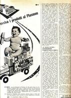 (pagine-pages)PUBBLICITA' PLASMON  Gente1960/10. - Libri, Riviste, Fumetti
