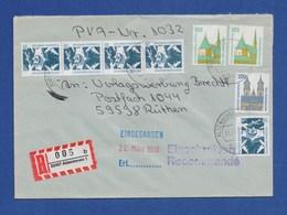 Bund R-Brief Einschreiben MiF - ALDENHOVEN - BRD