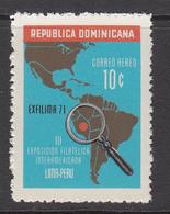1972 Dominican Republic Dominicana Philately Maps  Complete Set Of 1 MNH - Dominicaine (République)
