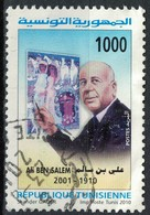 Timbre Oblitéré Used Stamp TUNISIE Personnages Célèbres Tunisiens  Ali Ben Salem 1000 TUNISIA 2010 WNS N° TN024.10 - Tunisia