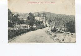 CPA - ANGOUSTRINE - L'Entrée Du Village  - Circulée - - Autres Communes