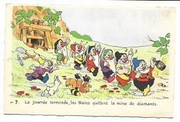 DISNEY - Blanche Neige Et Les 7 Nains N° 7 - Unclassified